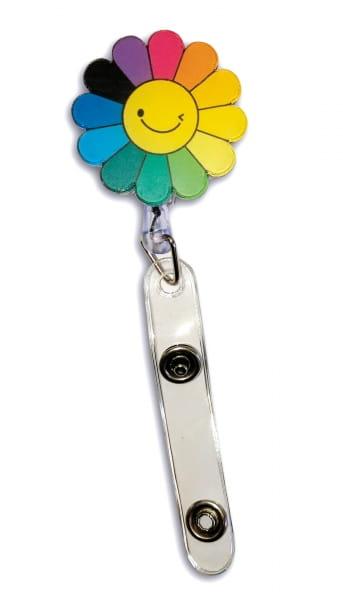 Badge-Halter Sonnenblume