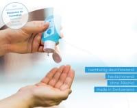 Händedesinfektionsmittel SWISSDES (5er Pack)