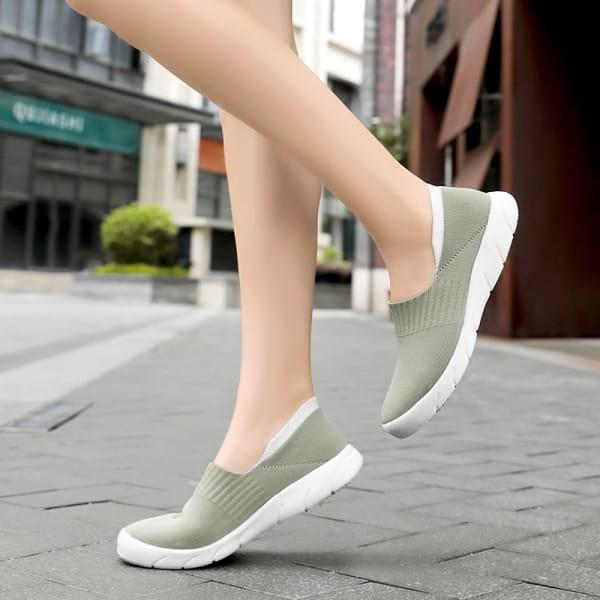 Soft Sneaker Moosgrün
