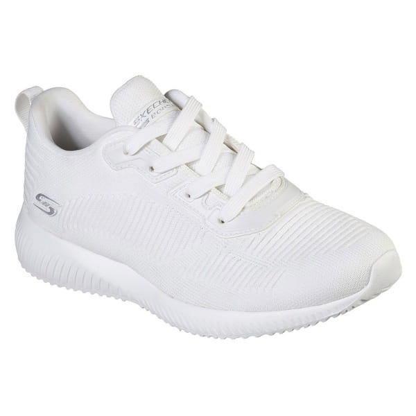 Skechers Bobs Squad Tough Talk Weiss