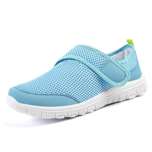 EasySneaker bleu clair velcro