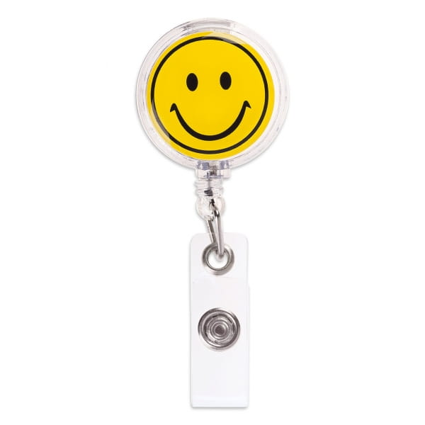 Badge-Halter Smiley
