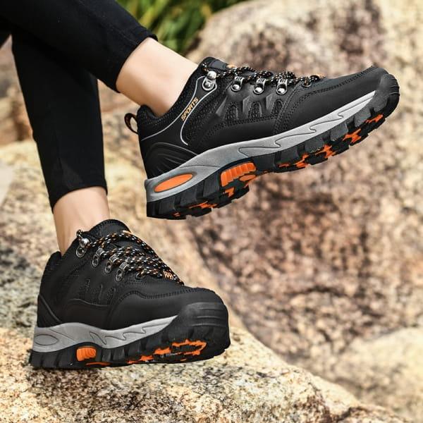 Hiking Sneaker Schwarz