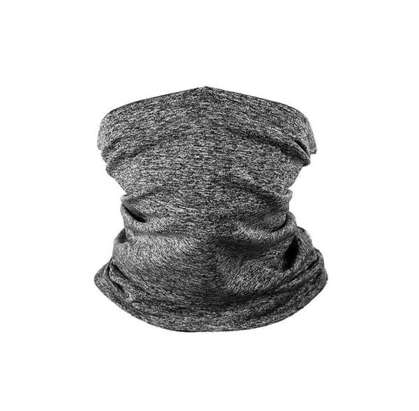 Halsschlauch inkl. 5 Filter Grau