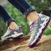 Trekking Sneaker Gris Clair