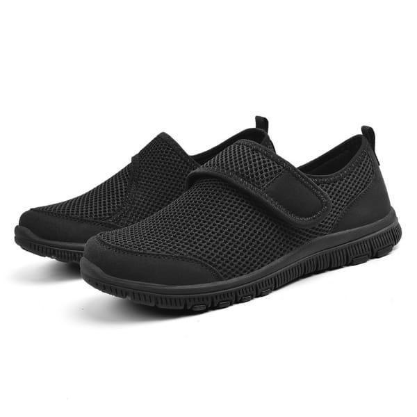 EasySneaker All Black Klett