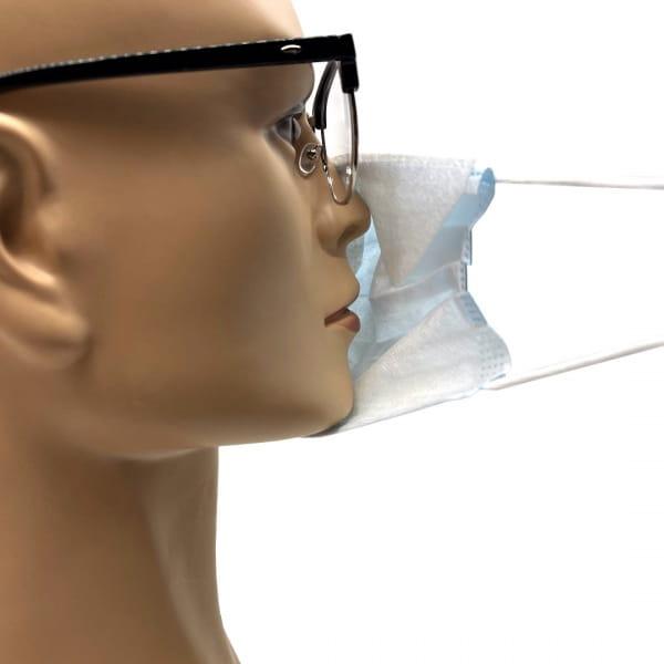 Brillen-Hygiene Maske Einweg (50 Stk.)