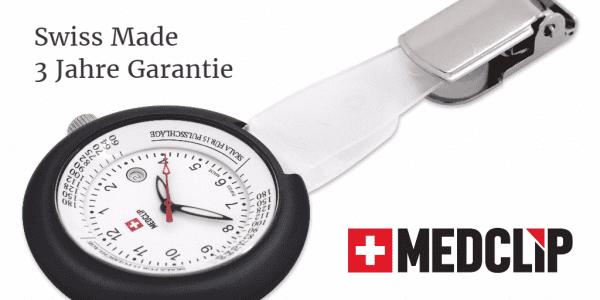 SWISS MedClip Granit-Schwarz