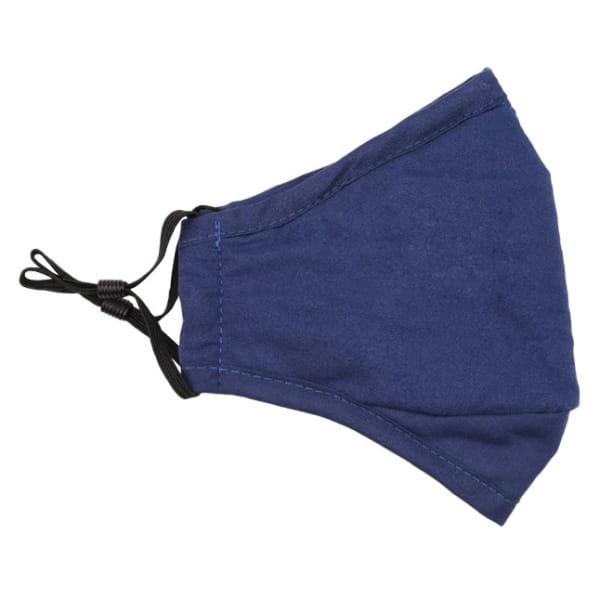 Waschbare Stoffmaske Dunkelblau