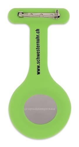 "Schwesternuhr aus Silikon ""Grün"""