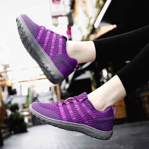 Chaussure de marche Lilas