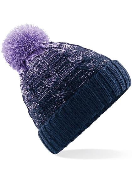 Wintermütze Lavendel