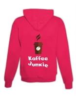 """Hoodie """"Kaffee Junkie"""""""