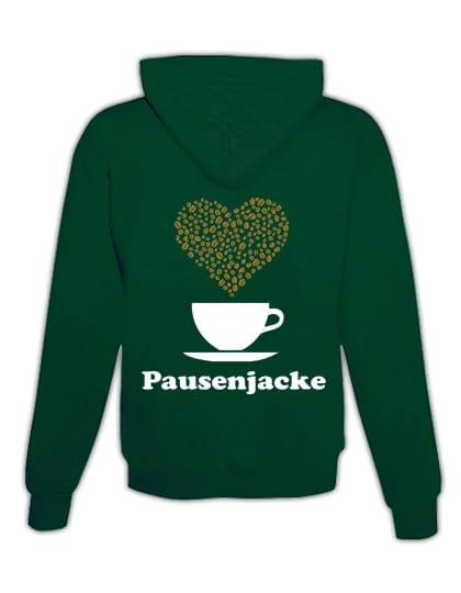 """Veste pour la pause """"Café"""""""