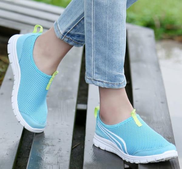 EasySneaker Bleu clair