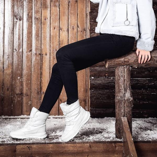 Confort Bottes d'hiver Blanc