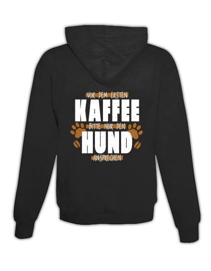 "Hoodie ""Kaffee & Hund"""