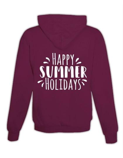 """Hoodie """"Bonnes vacances d'été"""""""