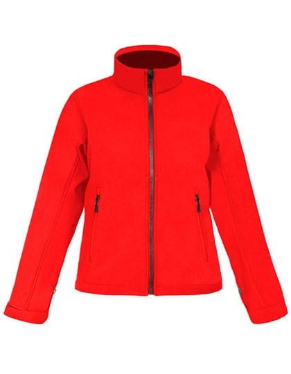 Softshell Jacke C+ Rot