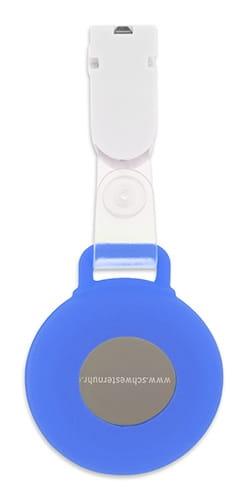 """Silikon Clip """"Blau"""""""