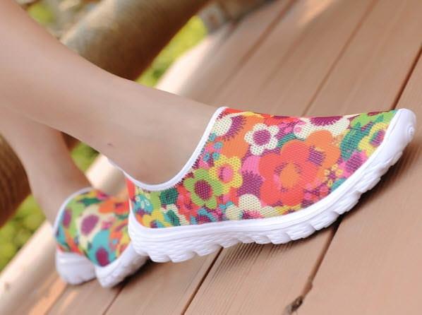 HappySneaker Blume