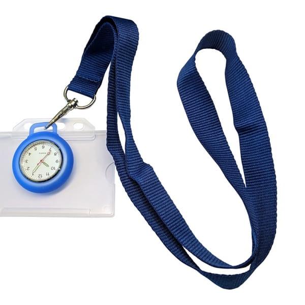 Lanyard-Uhr-Badge-Kombi