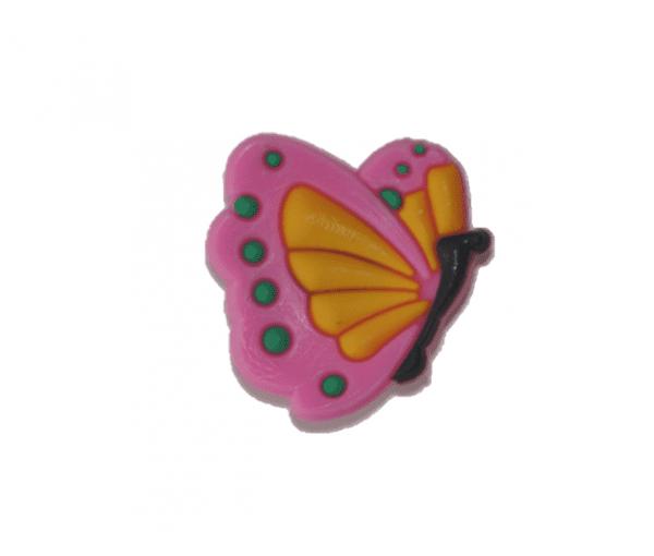 Pin pour chaussures papillon