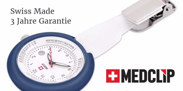 SWISS MedClip Marineblau
