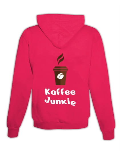 "Hoodie ""Café Junkie"""