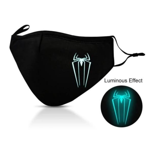 Stoffmaske Luminos Spider