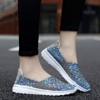 Wave-Slipper Blau